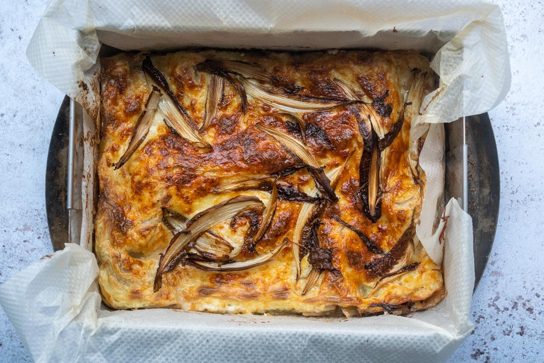 Lasagnes raddichio et gorgonzola