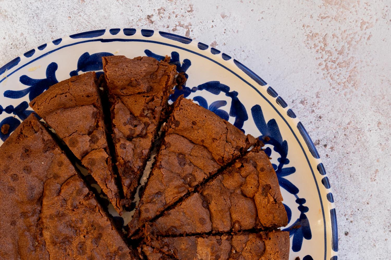 Fondant chocolat et huile d'olive