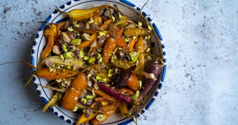 Salade de carottes et pistaches