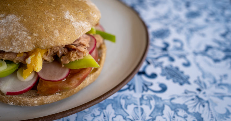 [Sandwich] Pan bagnat