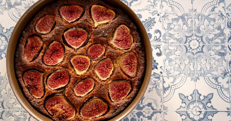 Gâteau figue et épeautre