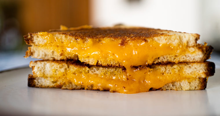 [Sandwich] Grilled cheese